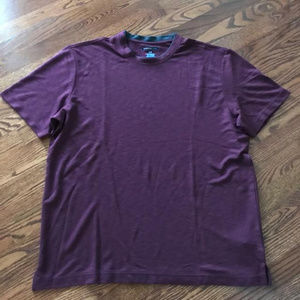 Van Heusen Studio T-Shirt Double Collar Men's L